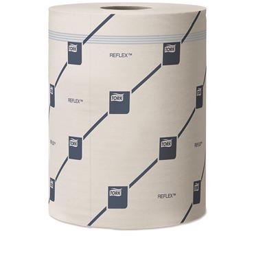 Tork 473264 White Reflex™ Wiping Paper Plus 6 Rolls per Case