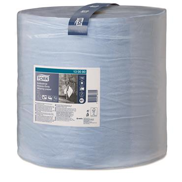Tork 130080 Blue Industrial Heavy-Duty Wiping Paper