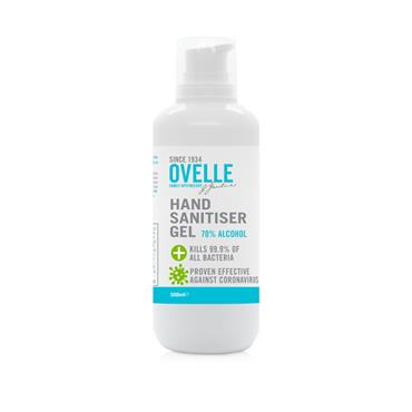Ovelle Hand Sanitiser 500ml 70% Alcohol