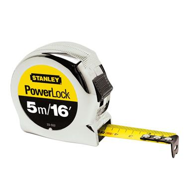 Stanley Micro Powerlock Metric/Imperial Measuring Tape