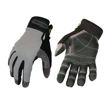 Youngstown 04-3070-70 Mesh Utility Plus Heavy-Duty Work Gloves