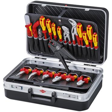 Knipex 00 21 20 20 Piece Electric Tool Case