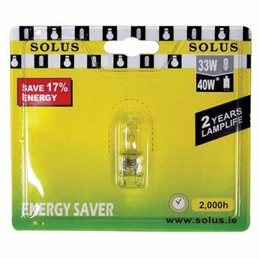 SOLUS Energy Saving G9 Halogen Bulb