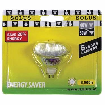 SOLUS Energy Saving G5.3 Halogen Bulb