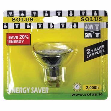 SOLUS Energy Saving GU10 Halogen Bulb
