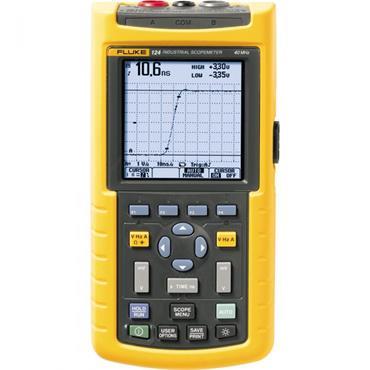 Fluke 124 Handheld Industrial ScopeMeter