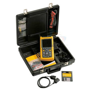 Fluke 124/S Handheld Industrial ScopeMeter with Software Kit