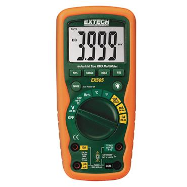Extech 11 Function Heavy Duty True RMS Industrial Multimeter