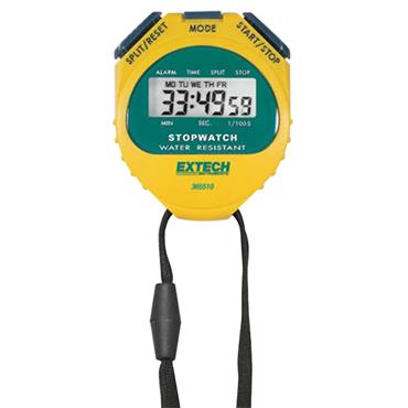 Extech 365510 Digital LCD Stopwatch/Clock
