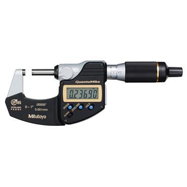 """Mitutoyo 293-181 1-2"""" IP65 QuantuMike Digital Micrometre"""