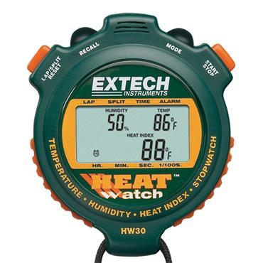 Extech HW30 Humidity and Temperature Stopwatch