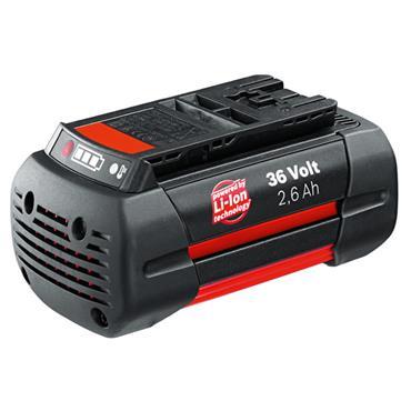 Bosch 2607336108 36 Volt Lithium-Ion Battery Pack, 1 x 2.6Ah Batteries