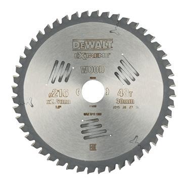 DeWALT 216 x 30 x 48T, Extreme Circular Saw Blade -  DT4320
