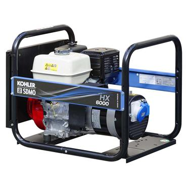 SDMO HX 6000 5.6kW Honda Engine Portable Power Generator