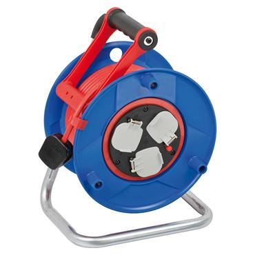 Brennenstuhl 1208853 240 Volt 25m Garant Bretec 3-Way Socket Cable Reel