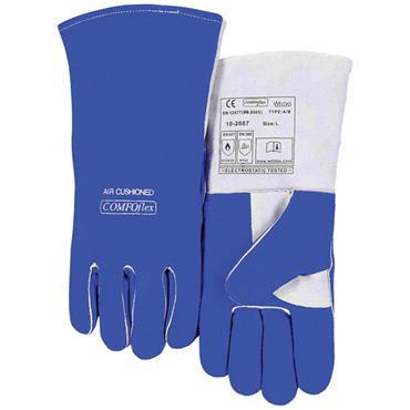 WELDAS 10-2087L Comoflex Welding Gloves Blue