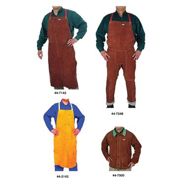 WELDAS Lava Brown Steersotuff Welding Clothing