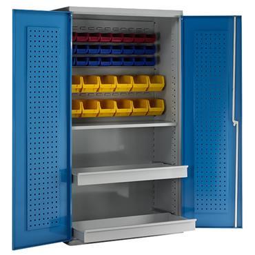 CITEC 2-Drawer Blue Redditek Cabinet