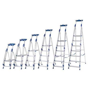 ABRU Blue Seal Aluminium Platform Ladders