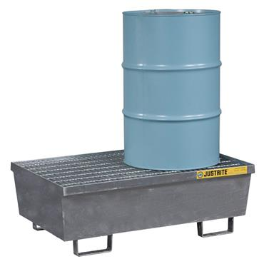 Justrite Steel Spill Containment Pallets