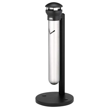 Rubbermaid Stainless Steel Cigarette Waste Receptacles