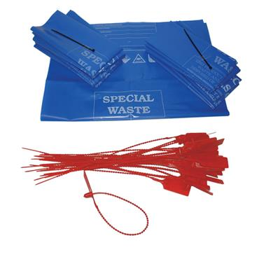 Fentex Disposal Bags and Security Tags