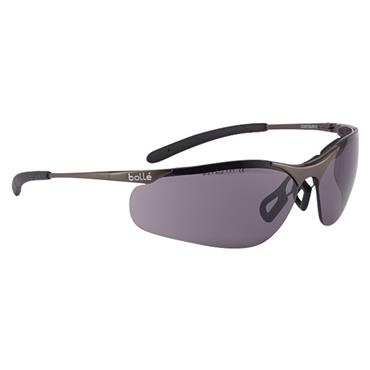 Bolle CONTMPSF Contour Metal Safety Glassses - Smoke