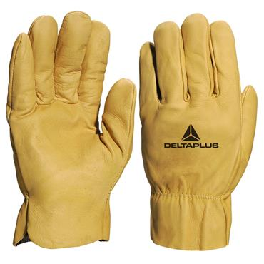 Venitex 52FEDFP Ribbed Cuff Safety Leather Gloves