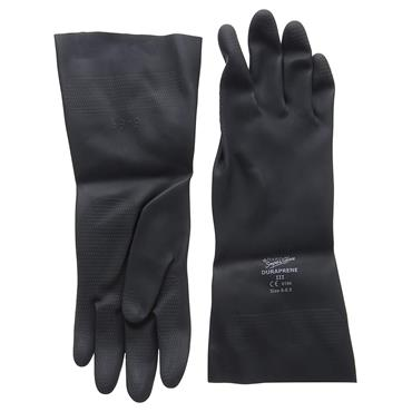 Polyco Duraprene III Flock Lined Neoprene Rubber Gloves