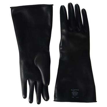 Polyco SC104 Chemprotec Unlined Natural Rubber Gloves