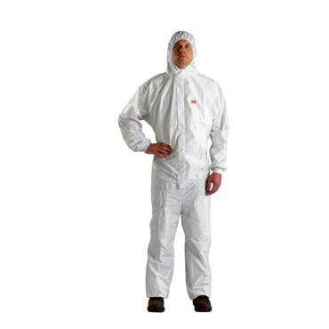 3M 4540+ Protective Disposable Coveralls - White/Blue