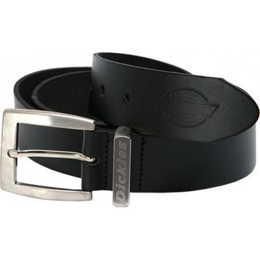 Dickies BE100 Grafters Leather Belt - Black