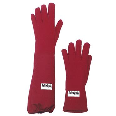 Scilabub Red Nomex Autoclave Heat Protective Gloves and Gauntlets