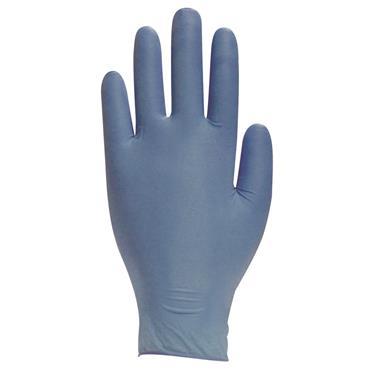 Polyco FN100 Finite Blue Nitrile Powder Free Disposable Gloves Box of 100
