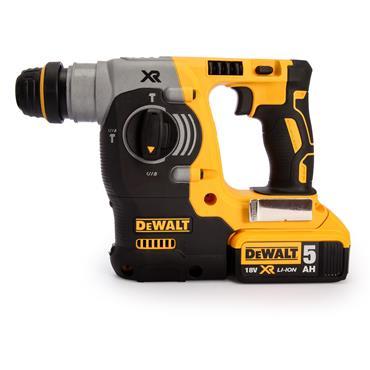 DeWALT DCH273P2 18 Volt Brushless SDS Rotary Hammer Drill, 2 x 5.0Ah Batteries