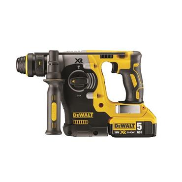DeWALT DCH274P2 18 Volt XR Li-ion SDS-Plus Rotary Hammer Drill, 2 x 5.0Ah Batteries