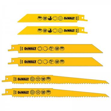 DeWALT DT2444-QZ 6 Piece Reciprocating Blade Set