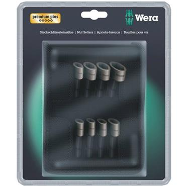 Wera 869/4M 8 Piece Metric and Imperial Nutsetter Pouch Set