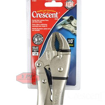 "Crescent C10CV 10"" Long Nose Locking Plier With Wire Cutter"