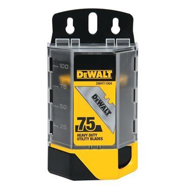 DeWALT DWHT11004L 75 Piece Heavy Duty Utility Blade