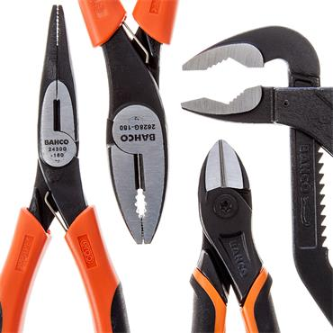 Bahco 9897 4 Piece Pliers Set