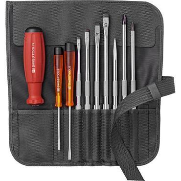 PB Swiss Tools PB8218 10 Piece Mixed Black Case Screwdriver Set
