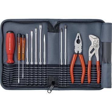 PB Swiss Tools PB8219 12 Piece Mixed Grey Colour Tool Kit