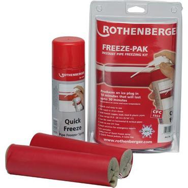 ROTHENBERGER 64004 Freeze-Pak Pipe Freezing Kit