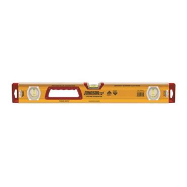 "Johnson 1717-2400 24"" Heavy-Duty Aluminum Box Level"