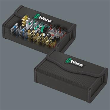 Wera 05057441001 Bit-Safe 61 BiTorsion 1 Torsion Bit and Holder Set