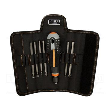 Bahco BE-8571 6 Piece Mixed Interchangeable Screwdriver Blades Set