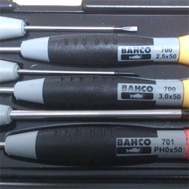 Bahco 706-1 6 Piece Mixed Precision Screwdriver Set