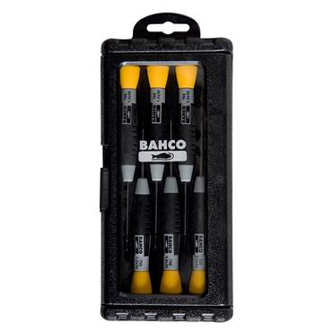 Bahco 706-3 6 Piece Precision Screwdriver Set