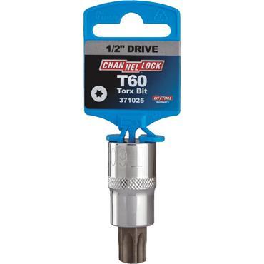 """Channellock 371025 Torx 1/2"""" Drive Bit Socket"""